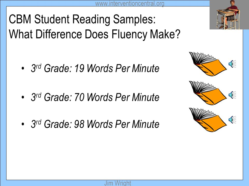 CBM Student Reading Samples: What Difference Does Fluency Make