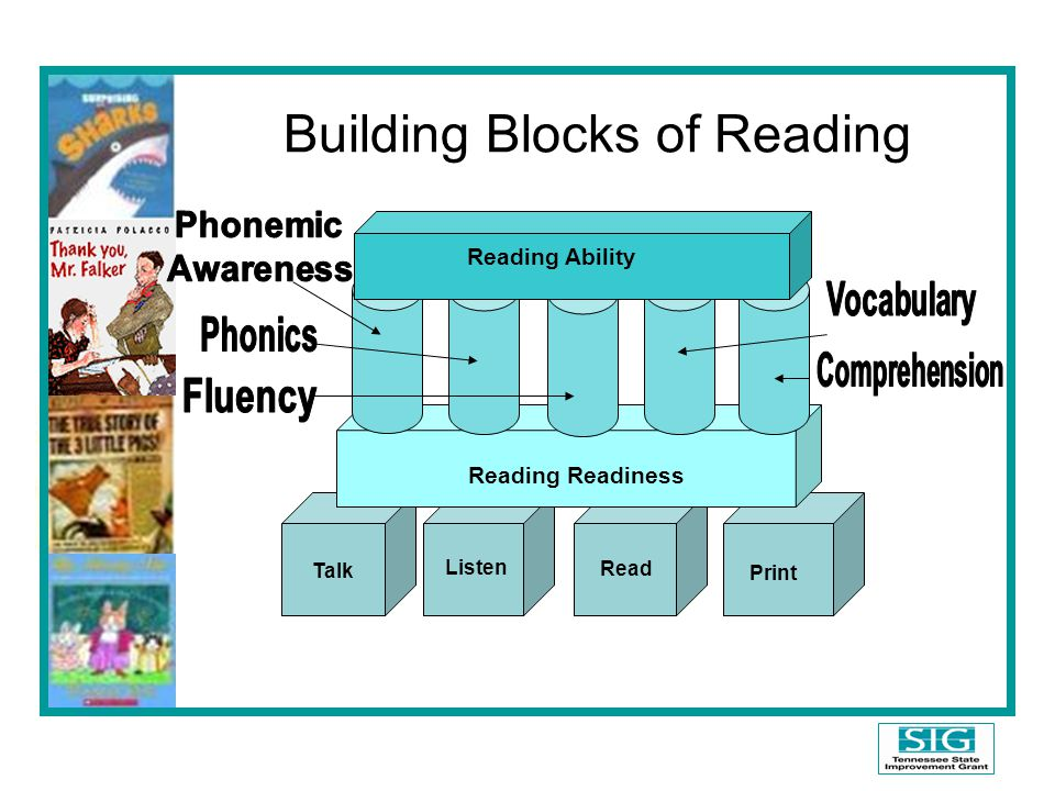 Building Blocks of Reading