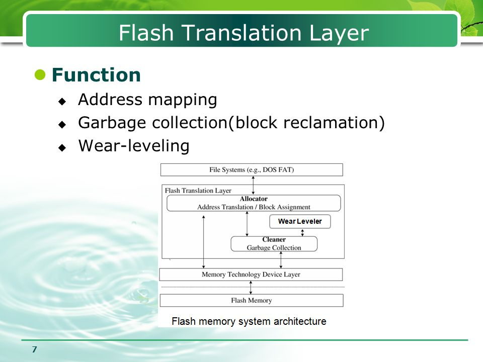 Flash Translation Layer