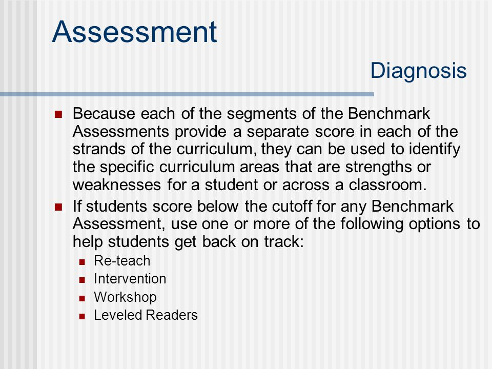 Assessment Diagnosis
