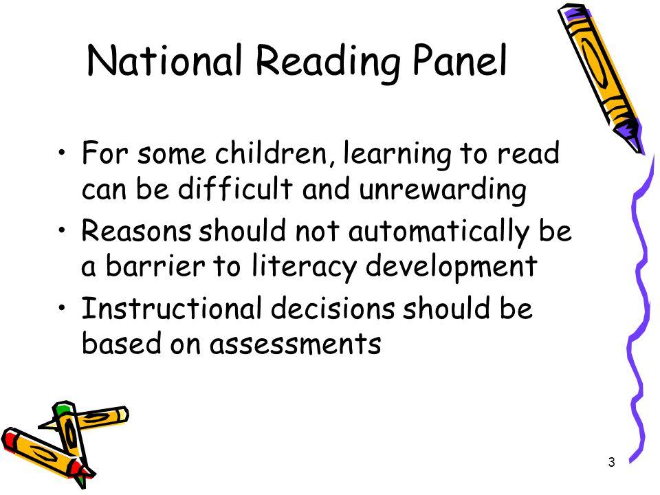 National Reading Panel