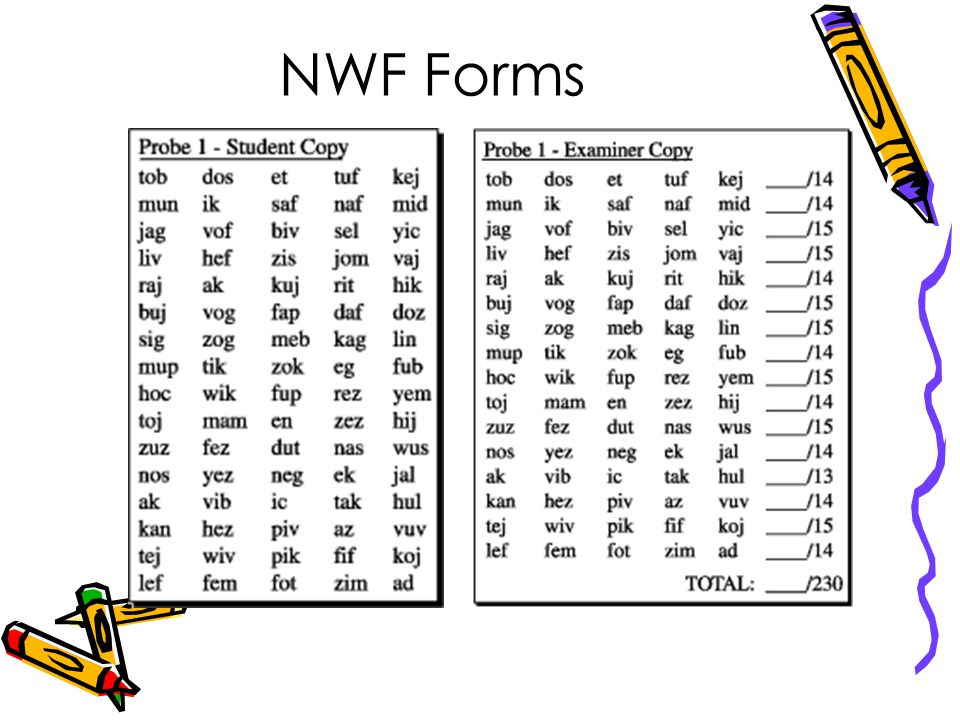 NWF Forms