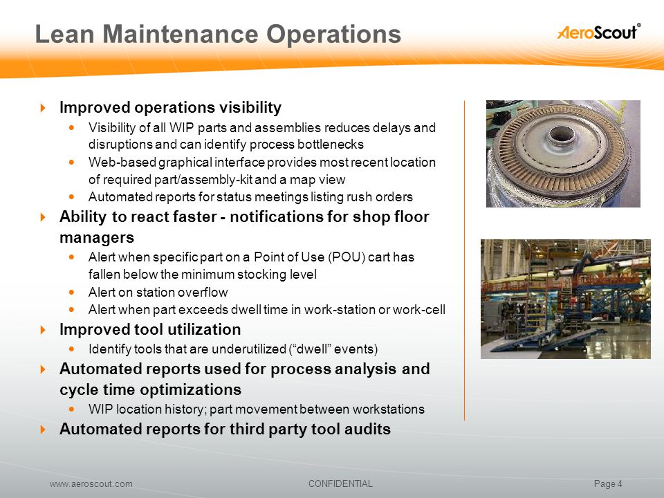Lean Maintenance Operations