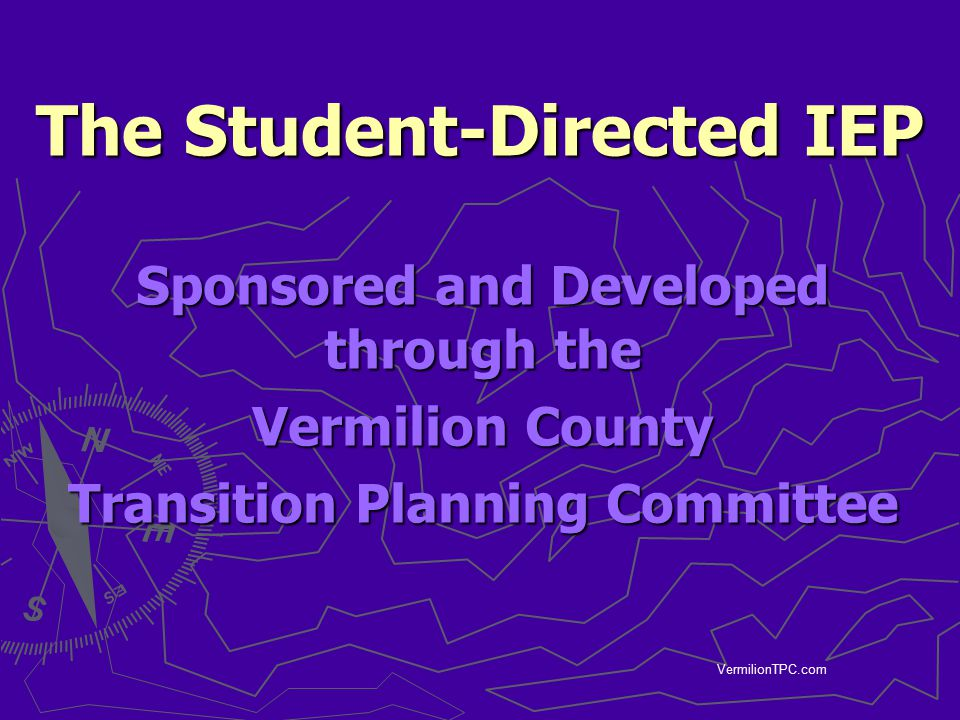 The Student-Directed IEP
