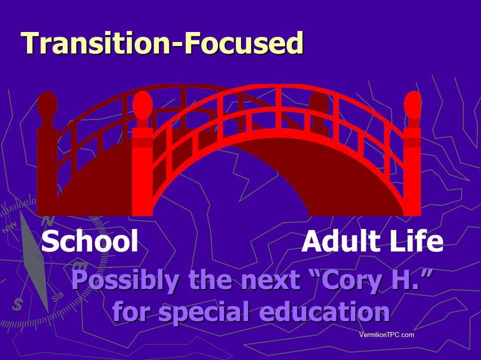Possibly the next Cory H. for special education