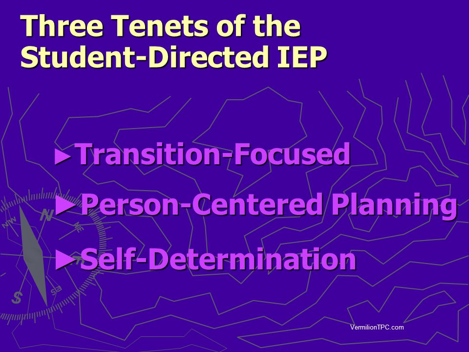 Three Tenets of the Student-Directed IEP