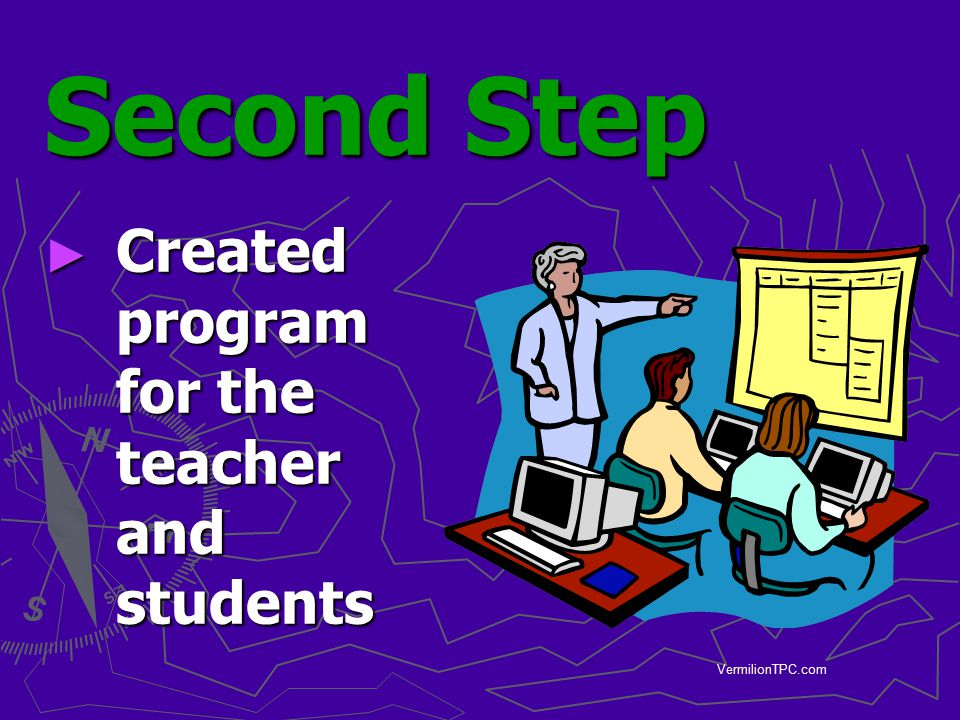 Second Step Created program for the teacher and students