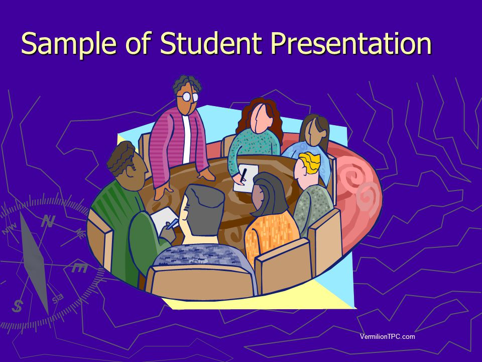 Sample of Student Presentation