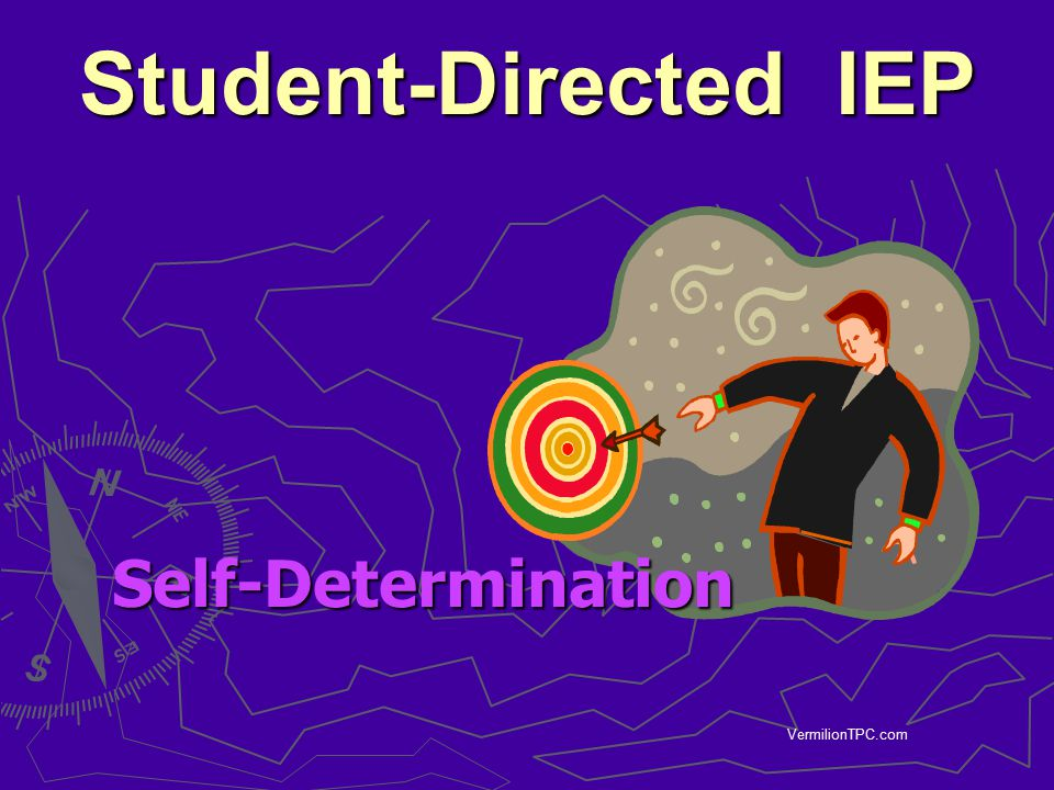 Student-Directed IEP Self-Determination VermilionTPC.com