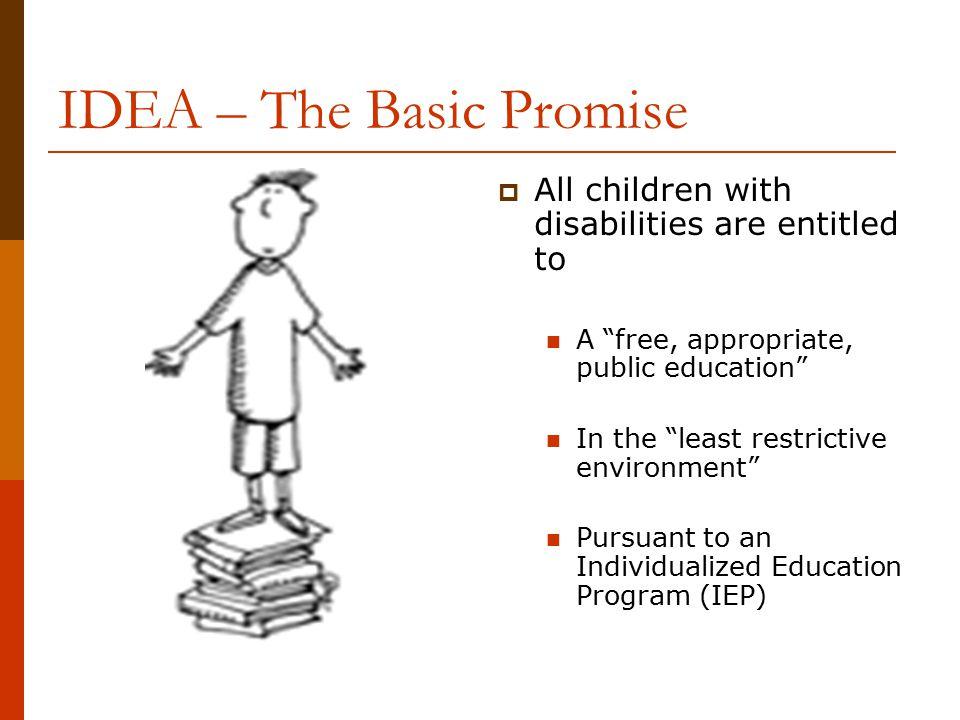 IDEA – The Basic Promise