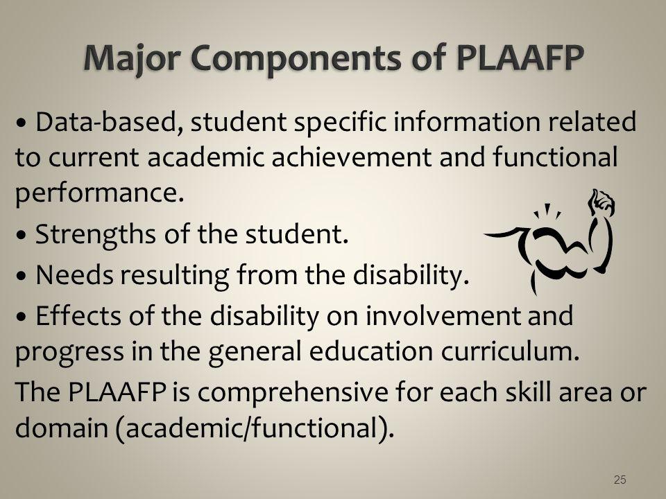 Major Components of PLAAFP