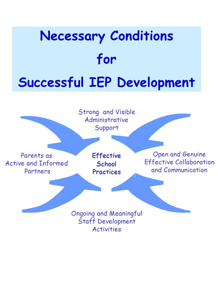 Successful IEP Development