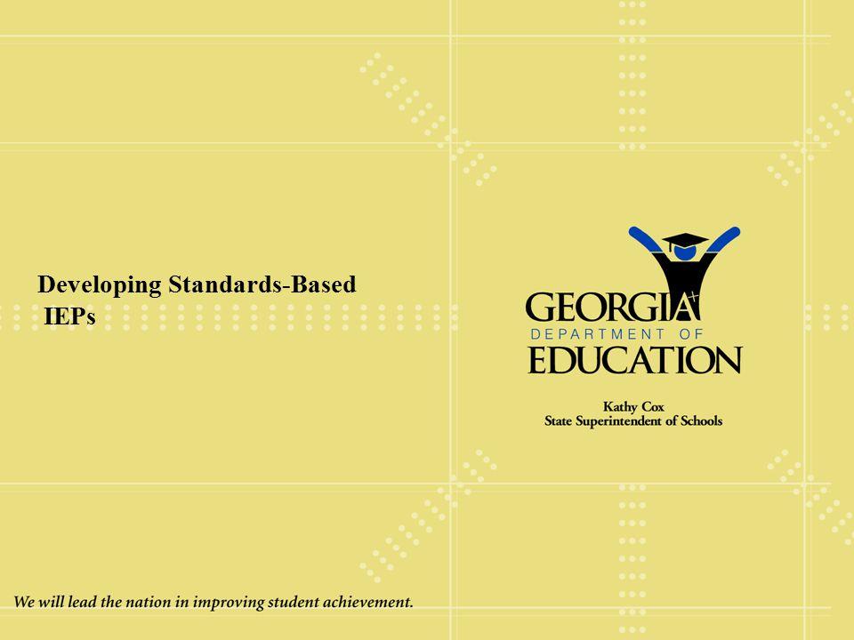 Developing Standards-Based