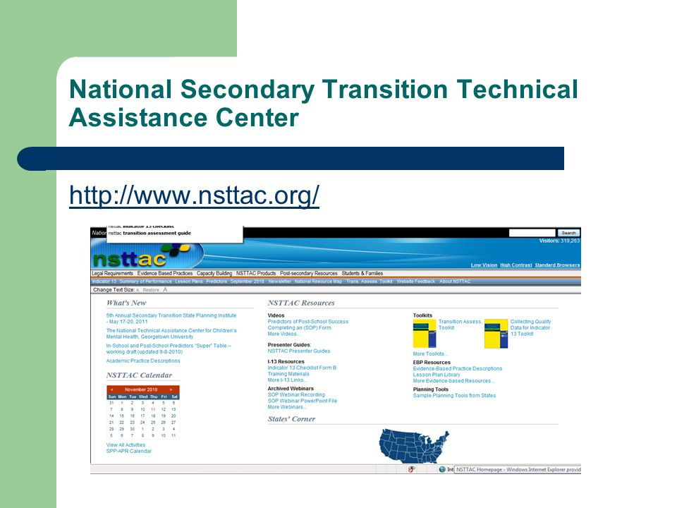 National Secondary Transition Technical Assistance Center