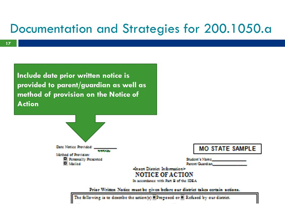 Documentation and Strategies for 200.1050.a