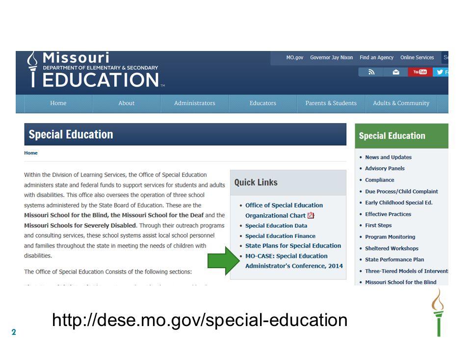 http://dese.mo.gov/special-education