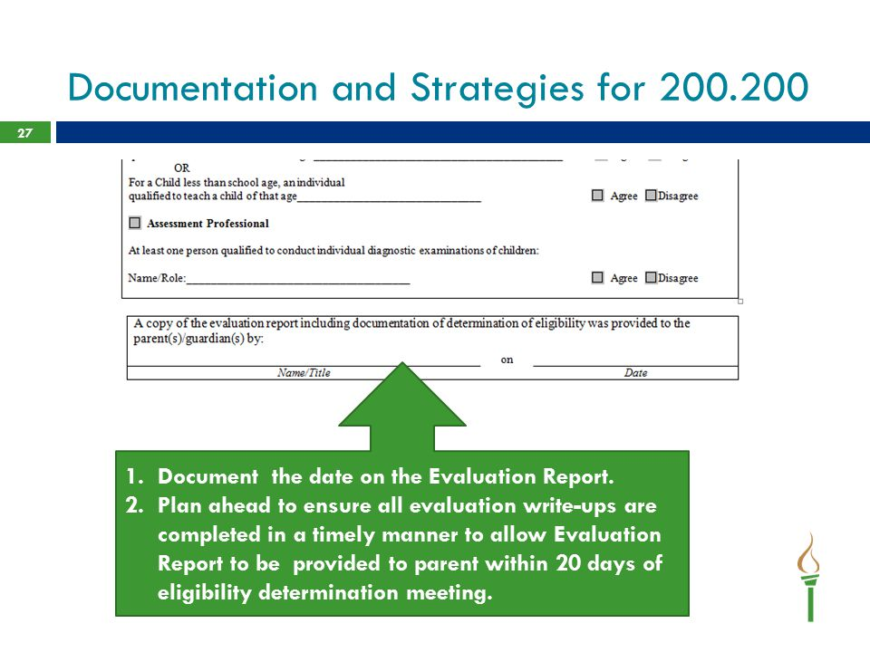 Documentation and Strategies for 200.200