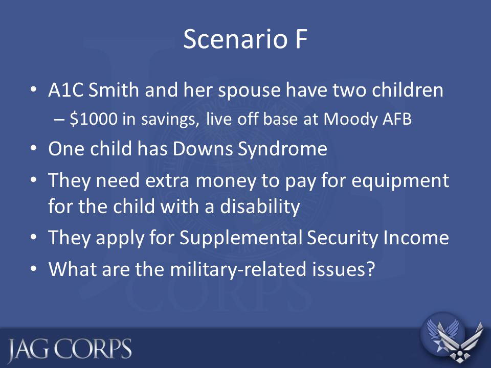 Scenario F A1C Smith and her spouse have two children