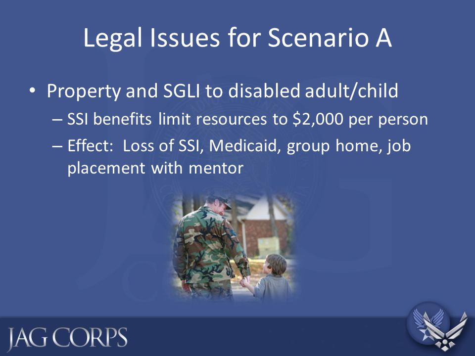Legal Issues for Scenario A