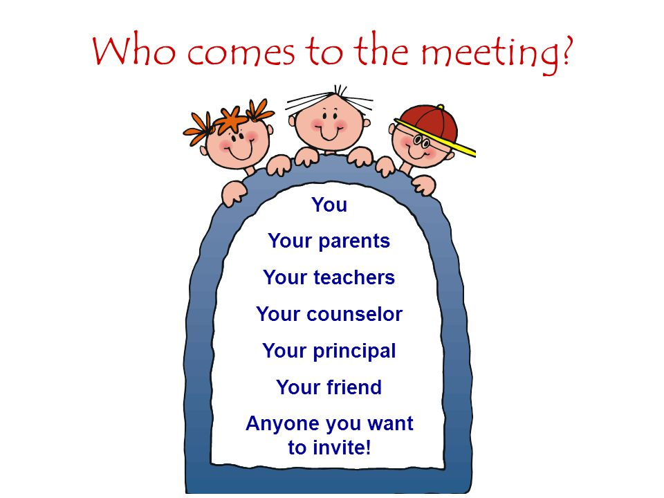 Who comes to the meeting