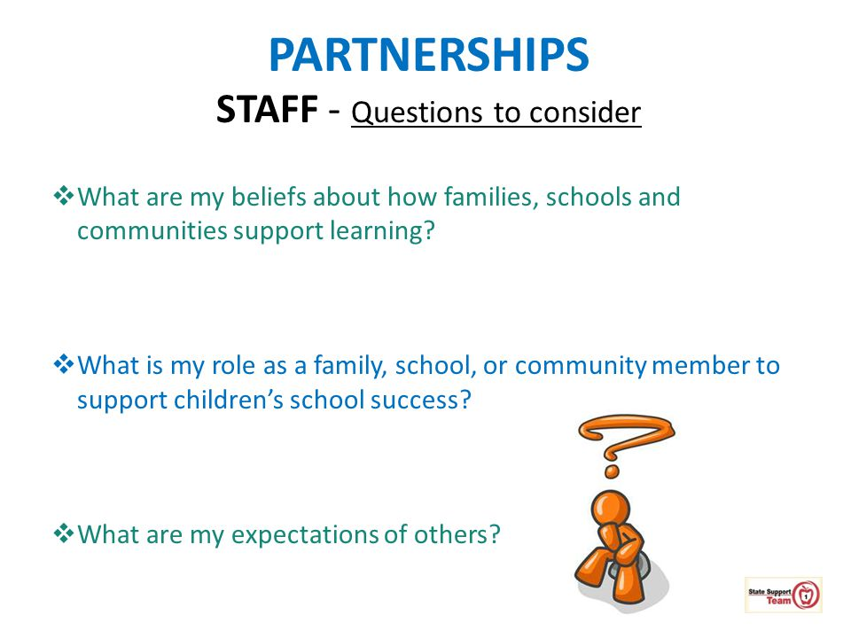 STAFF - Questions to consider