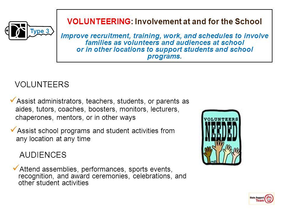 Assist administrators, teachers, students, or parents as