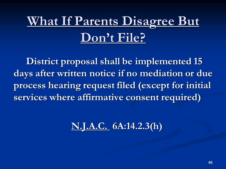 What If Parents Disagree But Don't File