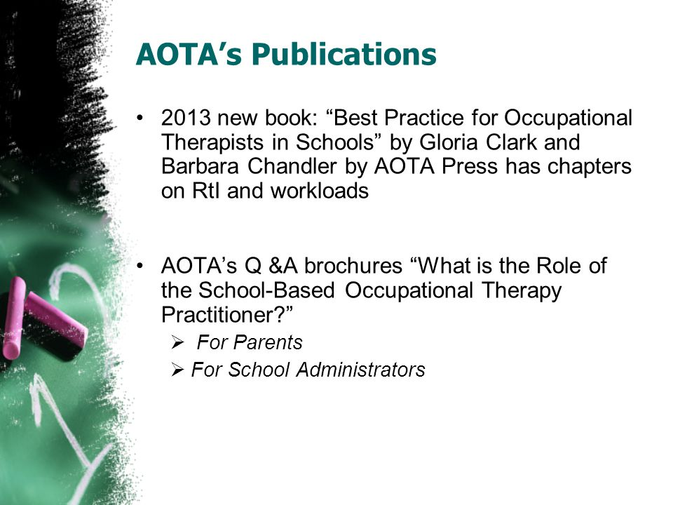 AOTA's Publications