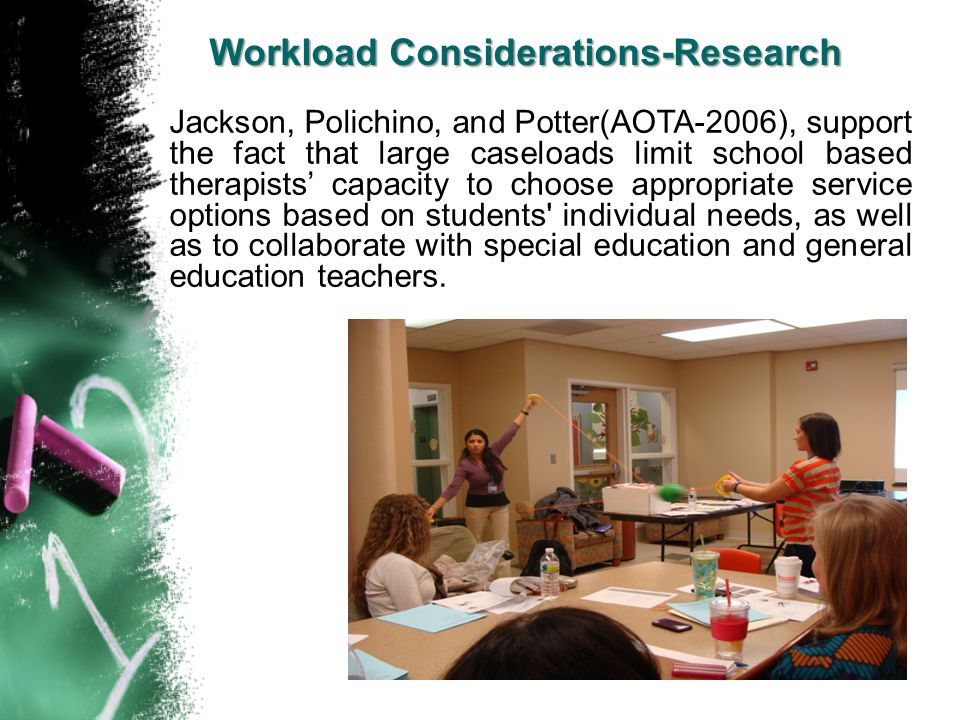 Workload Considerations-Research