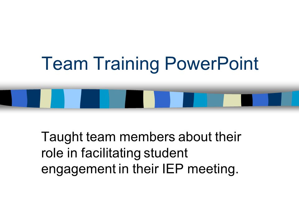 Team Training PowerPoint