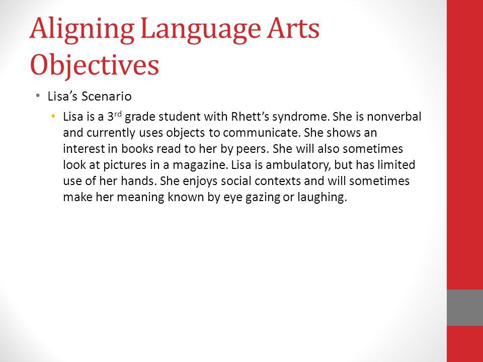 Aligning Language Arts Objectives