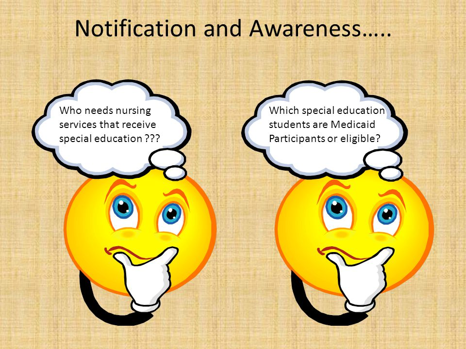 Notification and Awareness…..