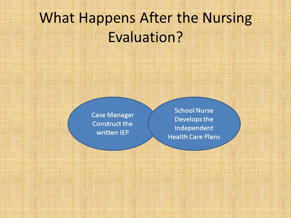 What Happens After the Nursing Evaluation