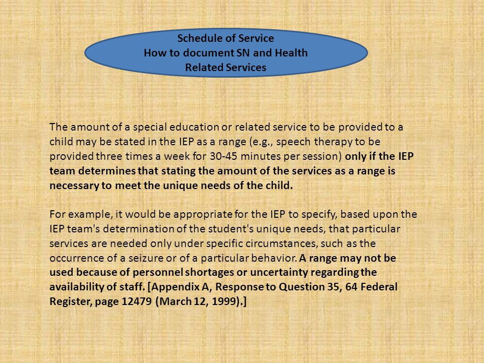 How to document SN and Health Related Services