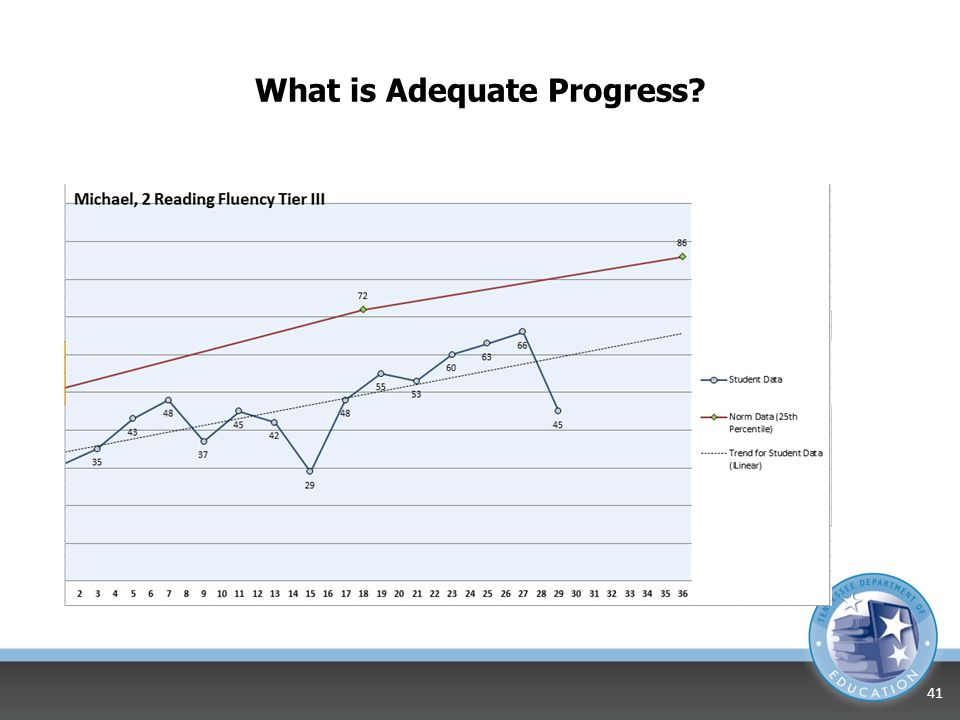 What is Adequate Progress