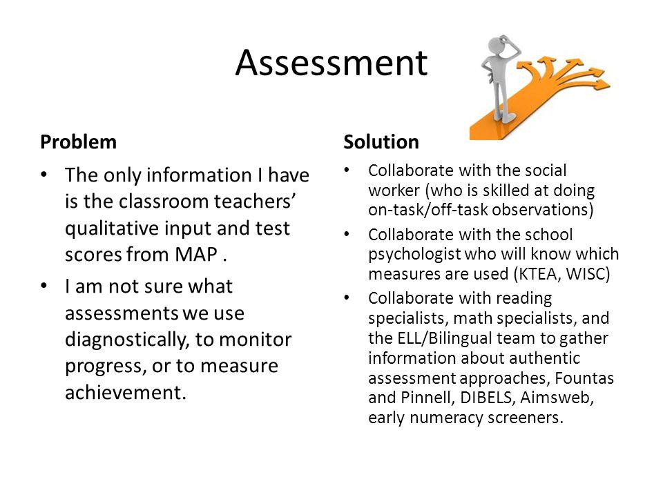 Assessment Problem Solution