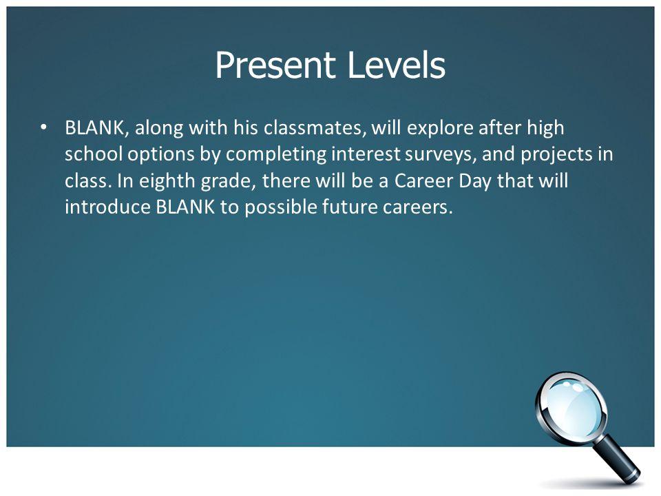 Present Levels