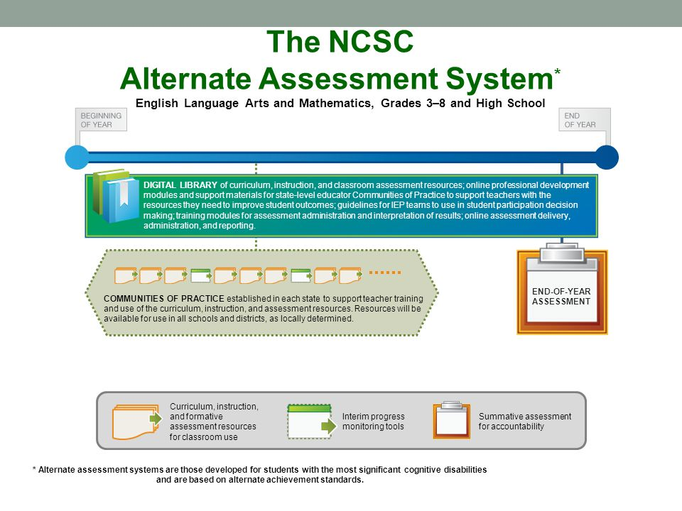 The NCSC Alternate Assessment System