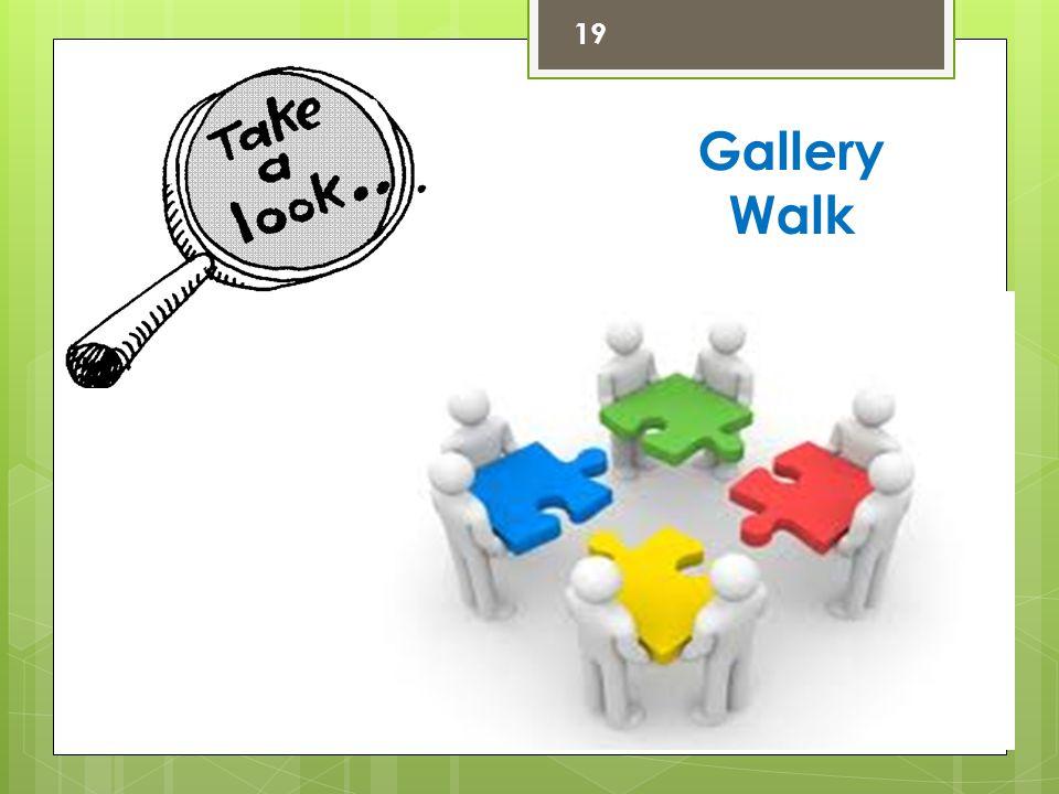 19 Gallery Walk