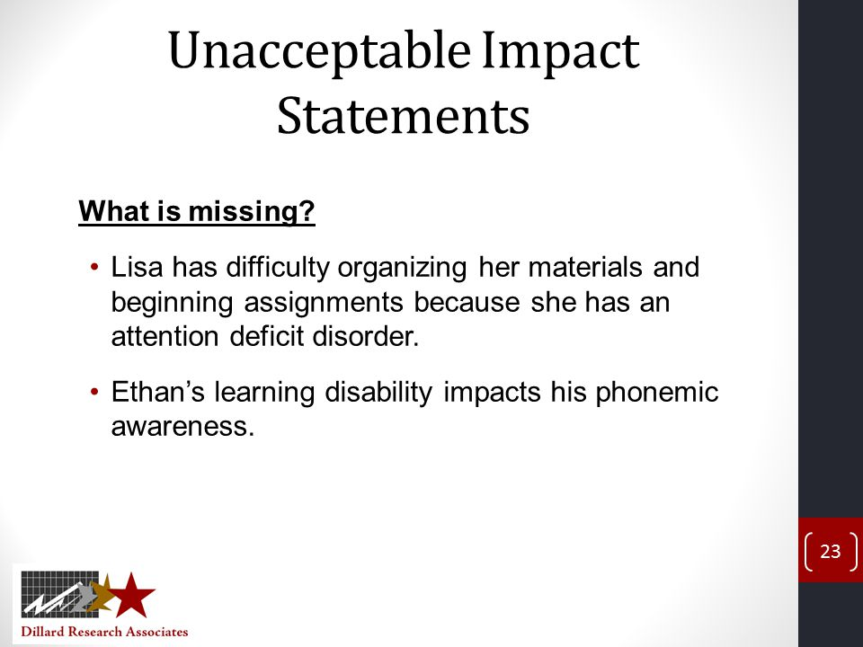 What is the impact of disability