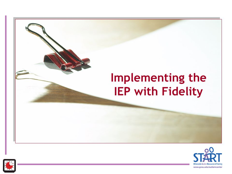 Implementing the IEP with Fidelity
