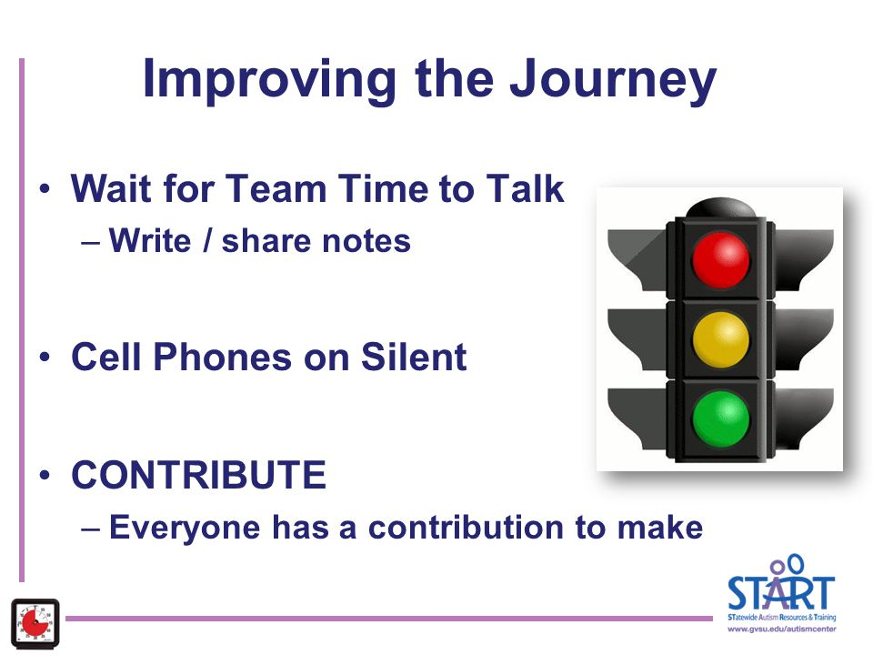 Improving the Journey Wait for Team Time to Talk Cell Phones on Silent