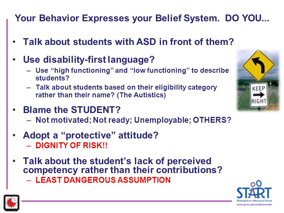 Your Behavior Expresses your Belief System. DO YOU...
