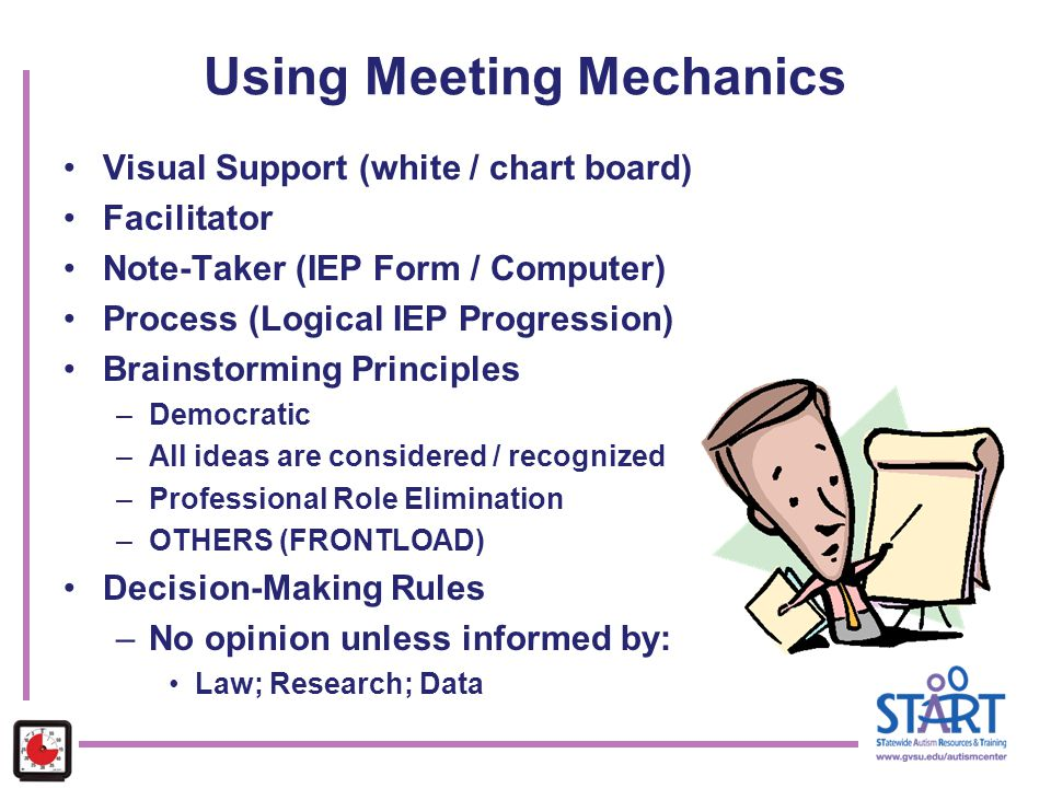 Using Meeting Mechanics