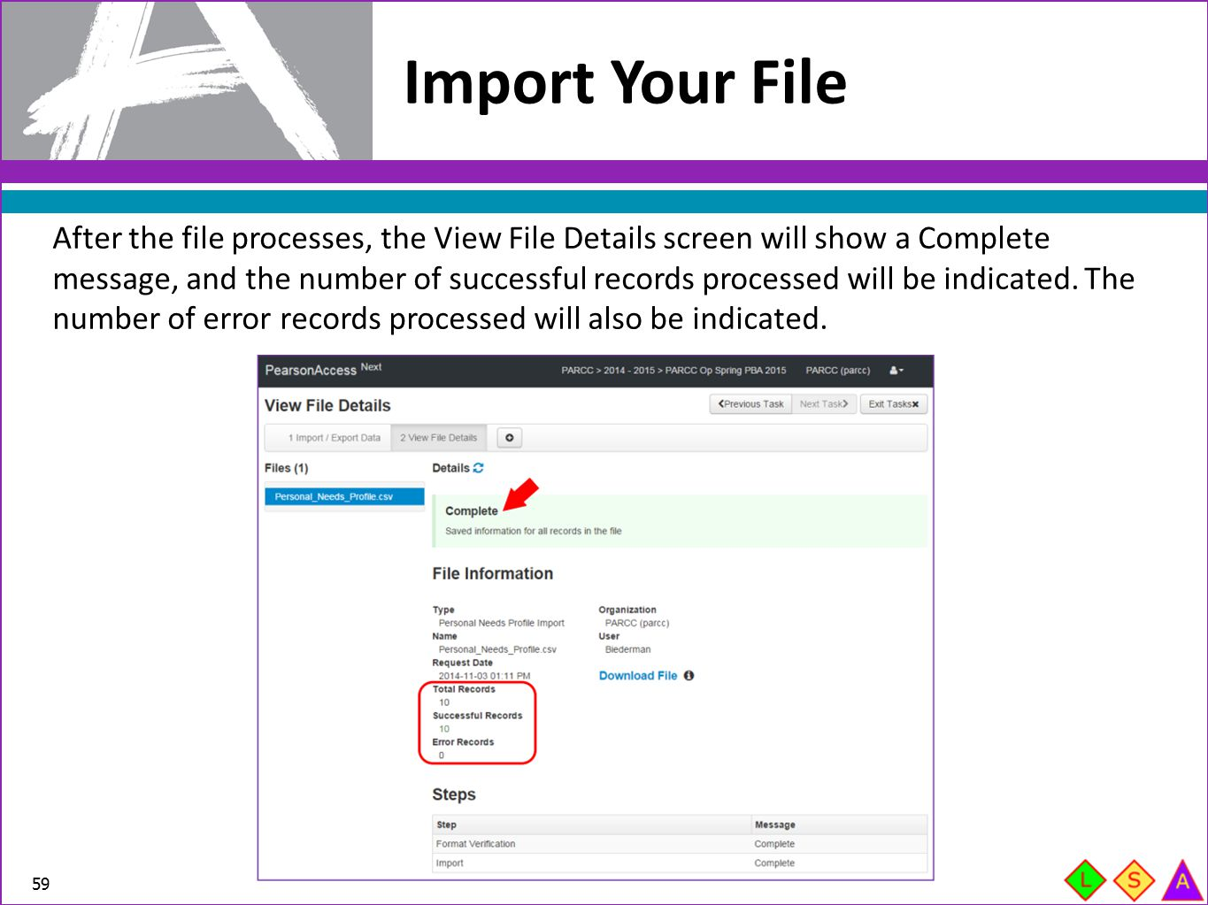 Import Your File