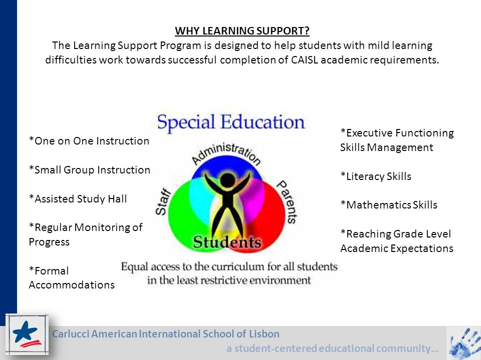 WHY LEARNING SUPPORT
