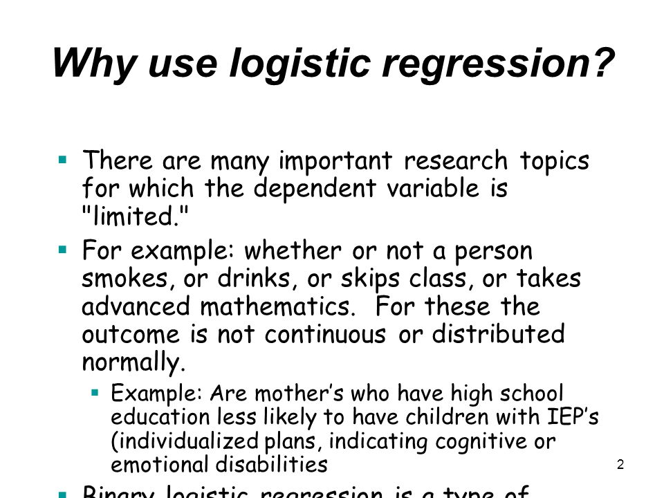 regression in research More than you want to know about regression correlation and  regression are very similar with one main difference in correlation the  variables.