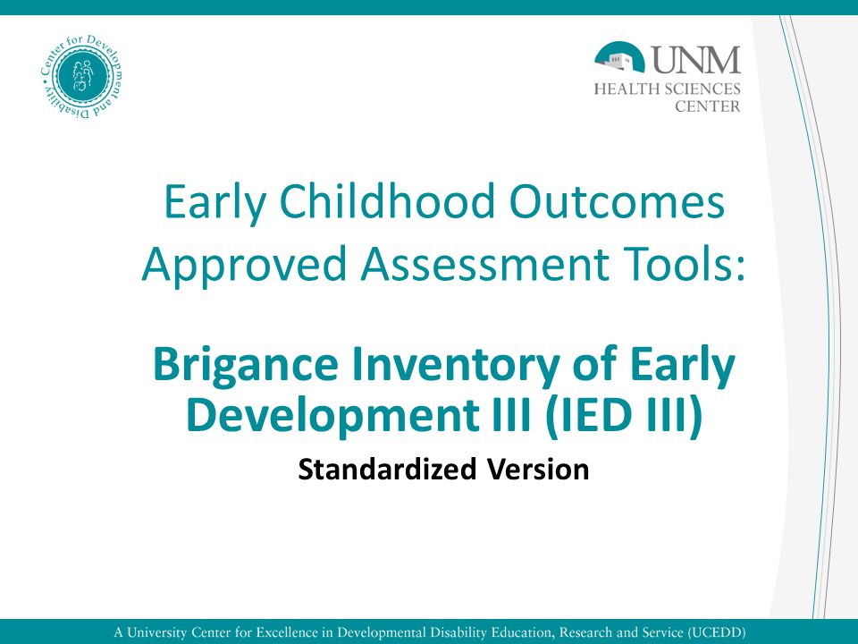 Early childhood outcomes approved assessment tools ppt video early childhood outcomes approved assessment tools sciox Choice Image