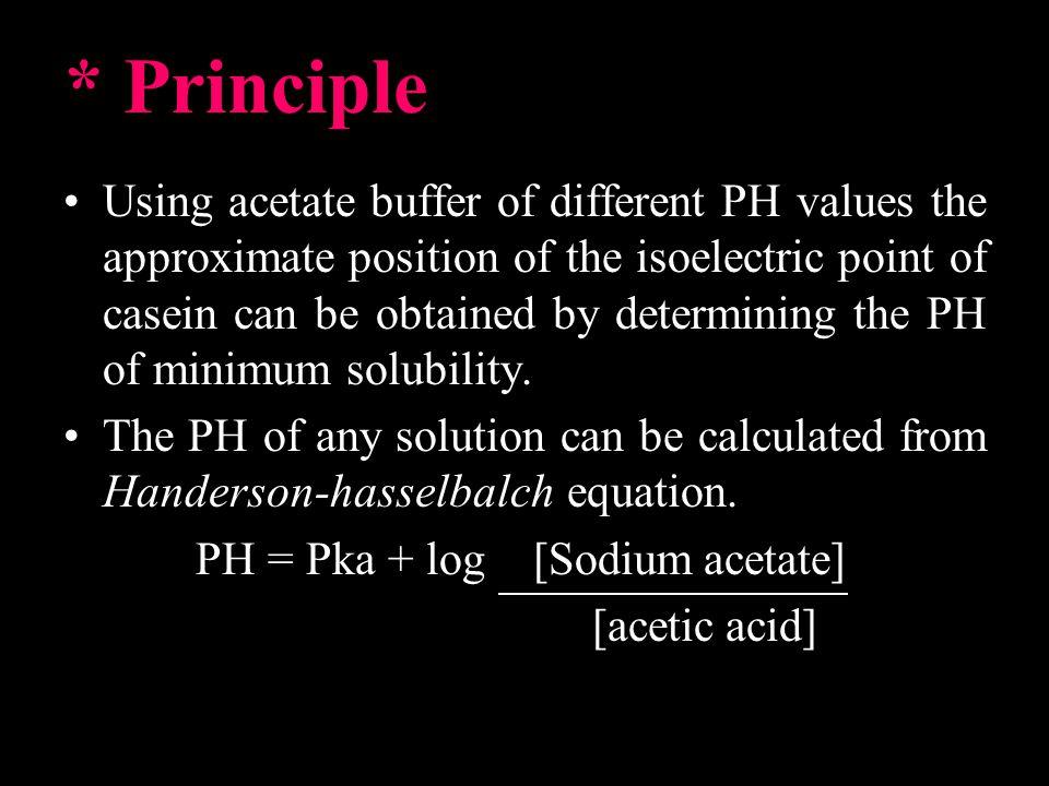 * Principle