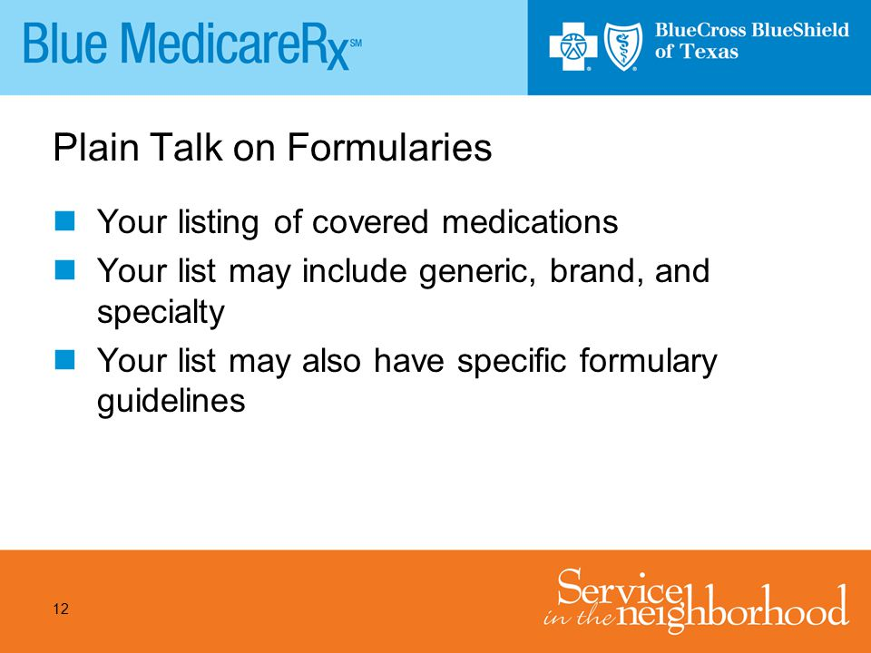 Plain Talk on Formularies